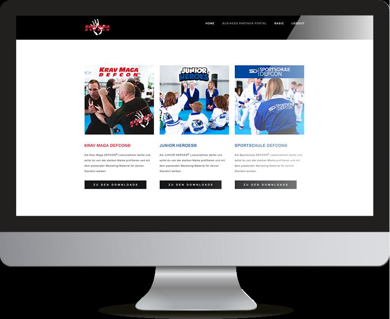 Krav Maga DEFCON® Business Portal